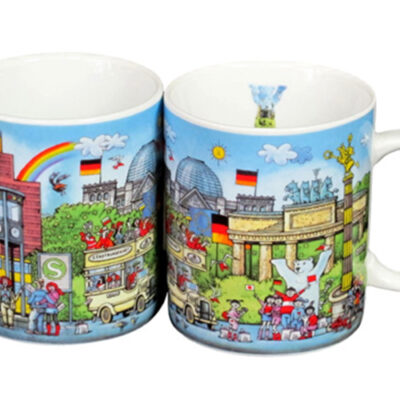 Coffee Mug Berlin Comic I