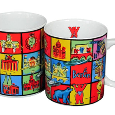 Coffee Mug Berlin Squares II
