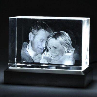 Leuchtsockel für Glasfotos
