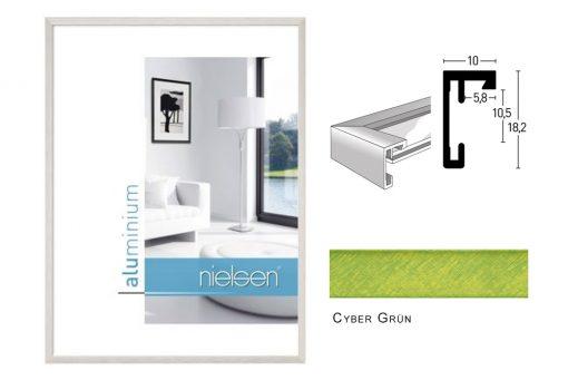 Aluminium Rahmen Nielsen C2 Cyber Grün