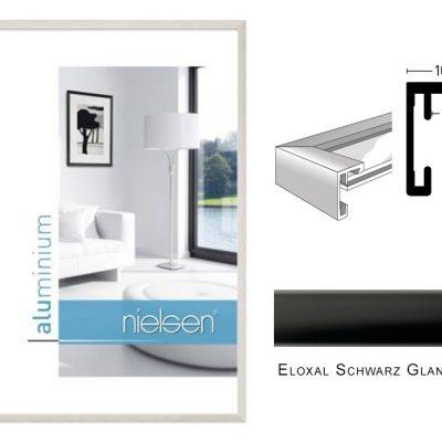 Aluminium Rahmen Nielsen C2 Eloxal Schwarz