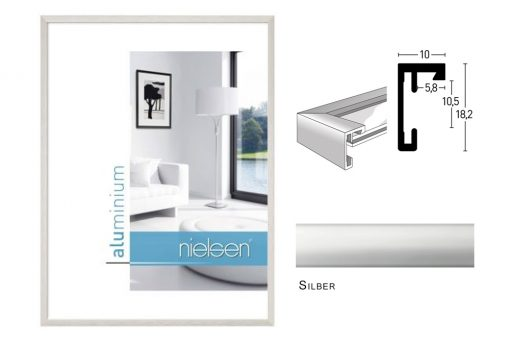 Aluminium Rahmen Nielsen C2 Silber