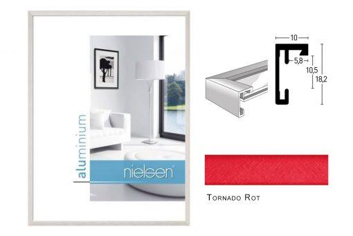 Aluminium Rahmen Nielsen C2 Tornado Rot