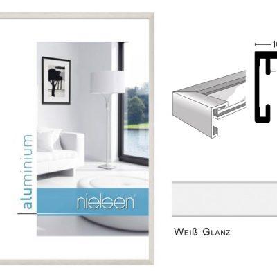 Aluminium Rahmen Nielsen C2 Weiß Glanz