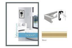 Aluminium Rahmen Nielsen Classic Gold