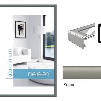 Aluminium Rahmen Nielsen Classic Platin