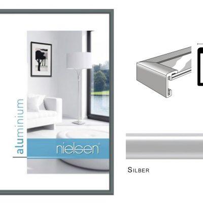 Aluminium Rahmen Nielsen Classic Silber