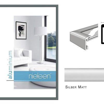 Aluminium Rahmen Nielsen Classic Silber Matt