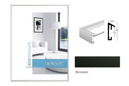 Aluminium Rahmen Nielsen Pixel Schwarz