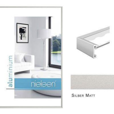 Aluminium Rahmen Nielsen Pixel Silber Matt