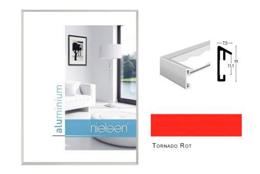 Aluminium Rahmen Nielsen Pixel Tornado Rot