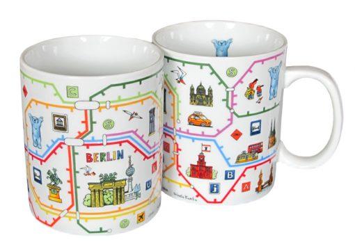 Coffee Mug Berliner Netz