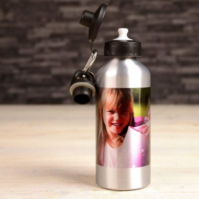 Alu Flasche mit Foto